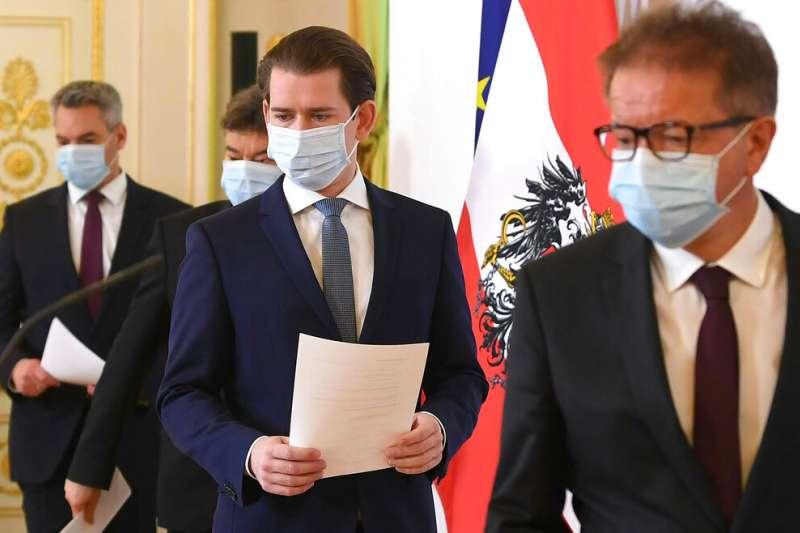 奧地利總理庫爾茲在復活節前夕向國人發布公開信,表示「我們想盡快擺脫這場危機,爭取奧地利的每份工作。」(美聯社)