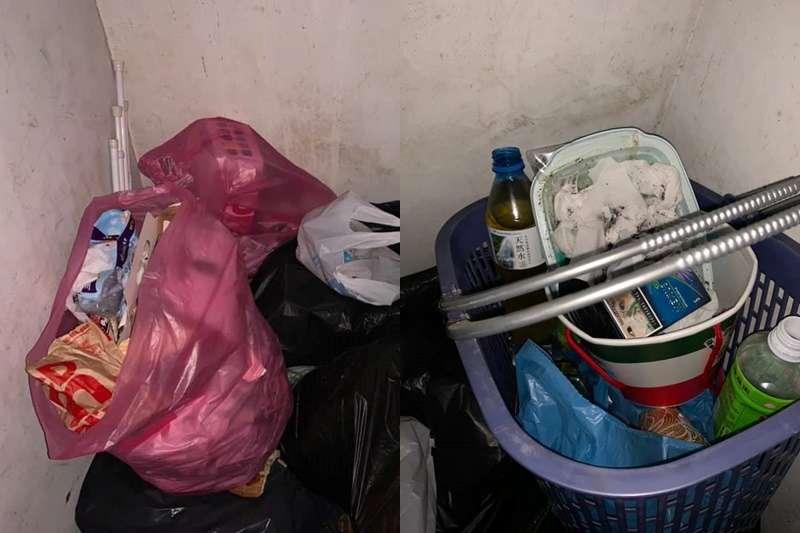研究生屎尿垃圾倒水塔長達2個月。(圖/翻攝爆料公社)