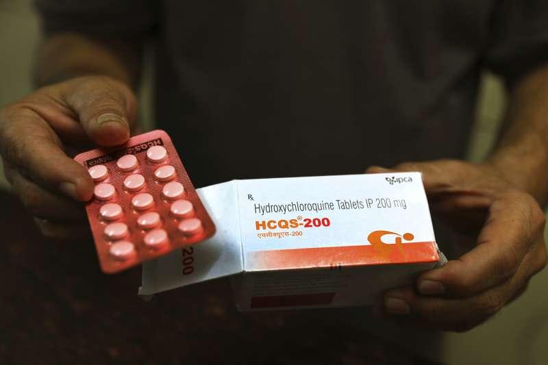 抗瘧疾常用藥物羥氯喹與氯喹,被視為新冠肺炎(武漢肺炎)有效用藥之一,但副作用可能造成嚴重心律不整。(AP)