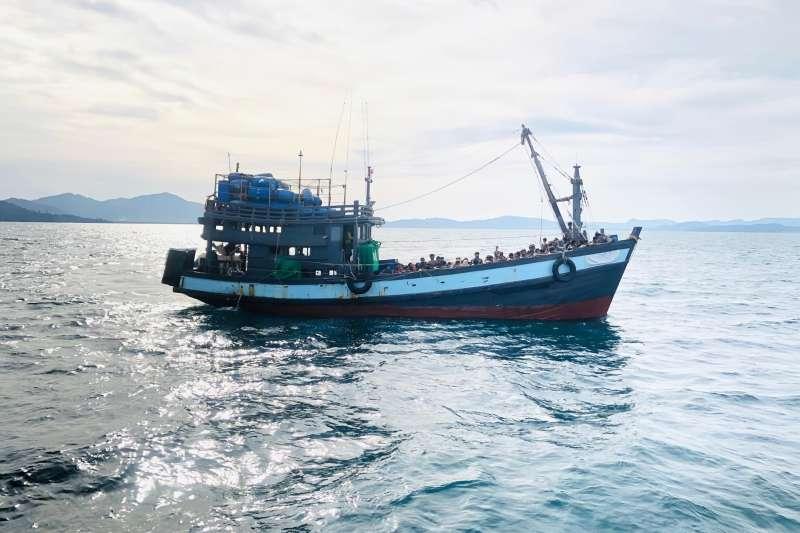 羅興亞海上難民。資料照(AP)