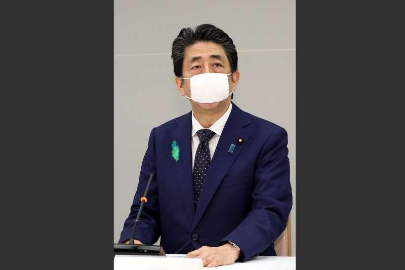 日本首相安倍晉三。(首相官邸官網)