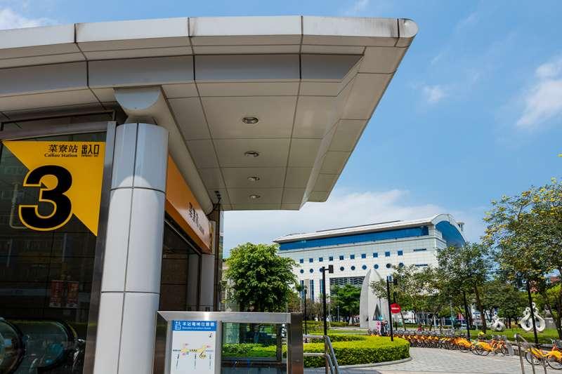 「築禾交響院」距離捷運新莊線菜寮站僅180米。(圖/富比士地產王提供)