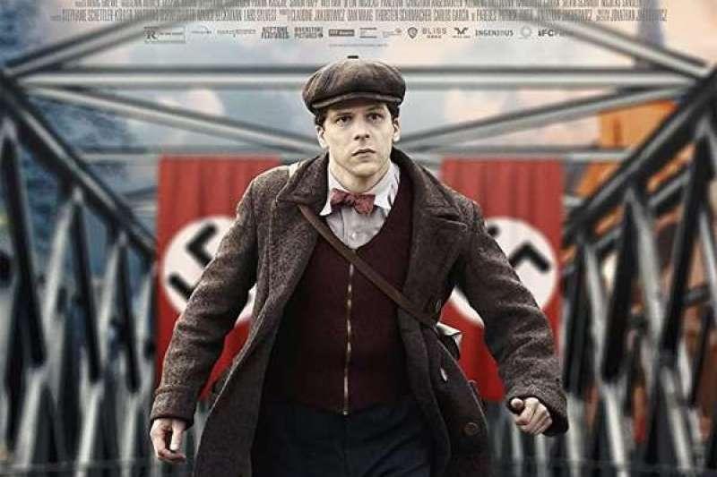 電影《無聲救援》,介紹法國默劇大師馬歇馬叟(Marcel Marceau)年輕時反抗納粹的故事。(作者提供)