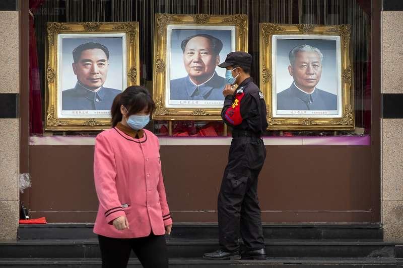 香港研究指出,中國實際感染新冠肺炎的人數,恐是官方數字的4倍之多。(AP)