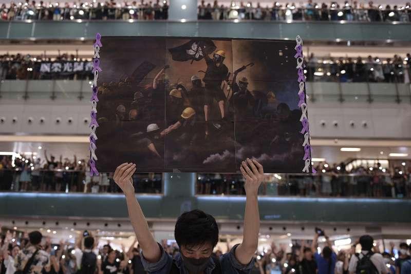 2019年香港反送中運動震撼全球(AP)