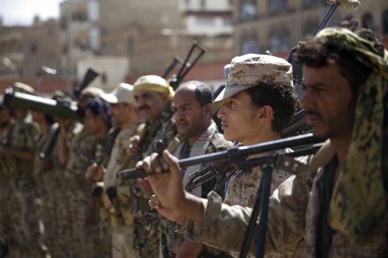 葉門內戰經年,叛軍胡塞組織(Houthi)力抗沙烏地阿拉伯(AP)