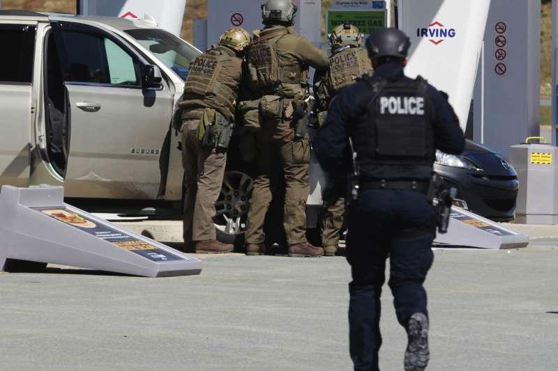 2020年4月19日,加拿大東部新斯科細亞省(Nova Scotia)發生大規模槍擊案(AP)