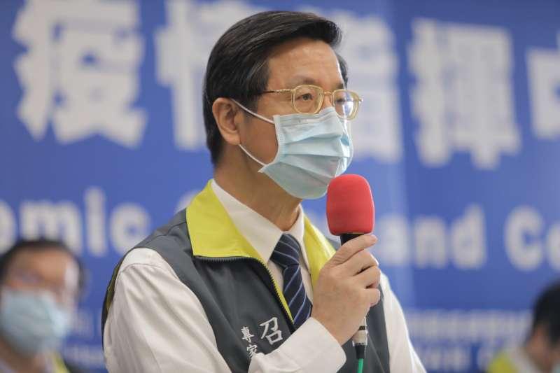 中央流行疫情指揮中心29日因應新冠肺炎疫情召開記者會,專家諮詢小組召集人張上淳指出,醫療量能也是影響致死率的關鍵。(中央流行疫情指揮中心提供)