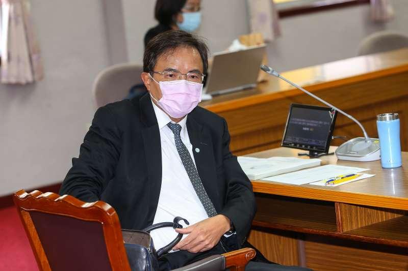 20200423-法務部次長蔡碧仲23日出席立院司法法制委員會公聽會。(顏麟宇攝)