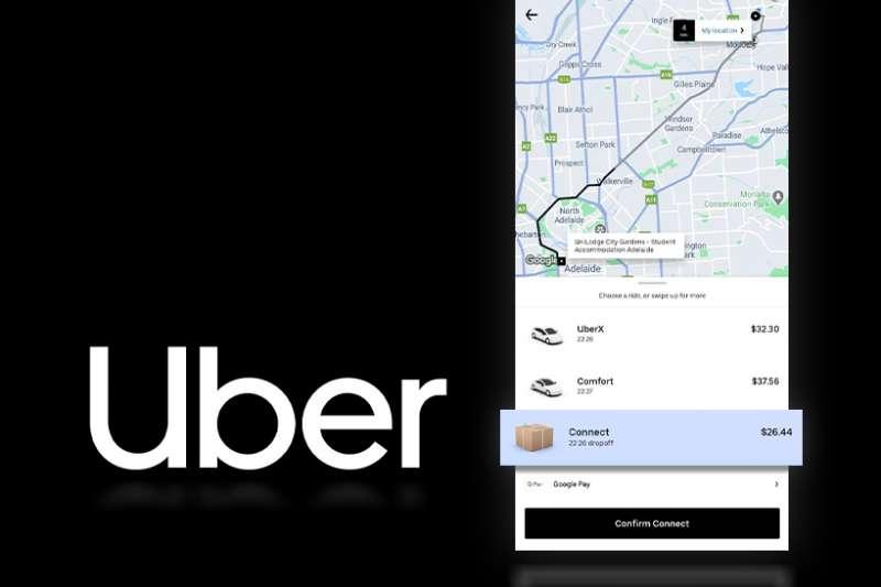 Uber 為填補載客量虧損,推出新服務。