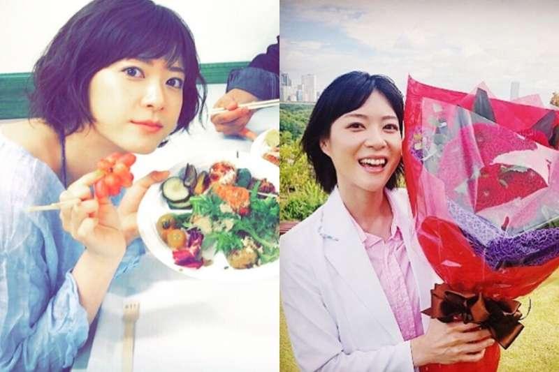 上野樹里受母親鼓勵決定當演員,媽媽卻在她成功後逝世。(圖/取自_juri_art_ @instagram)