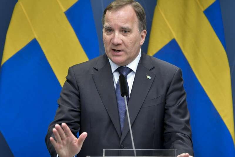 瑞典總理勒文(Stefan Löfven)。(AP)