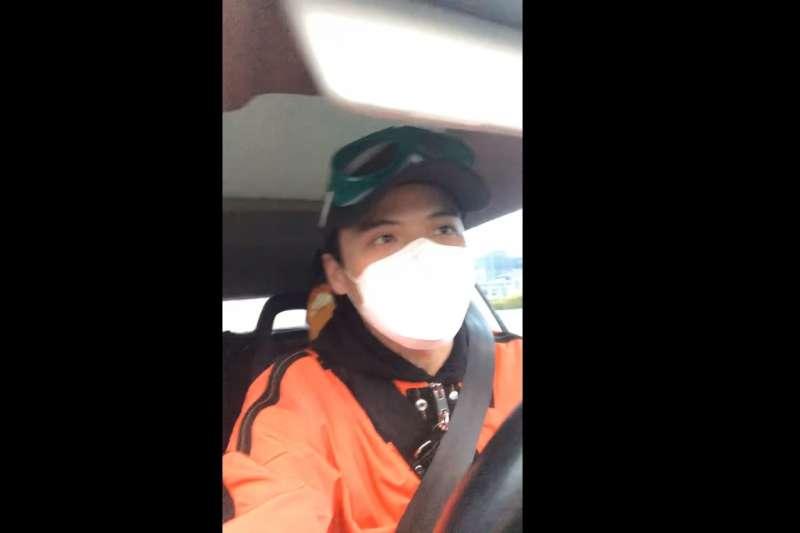 探訪武漢的公民記者李澤華。(BBC)
