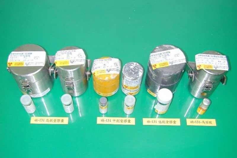 經由清大研究用反應器照射而製備完成的碘131藥物