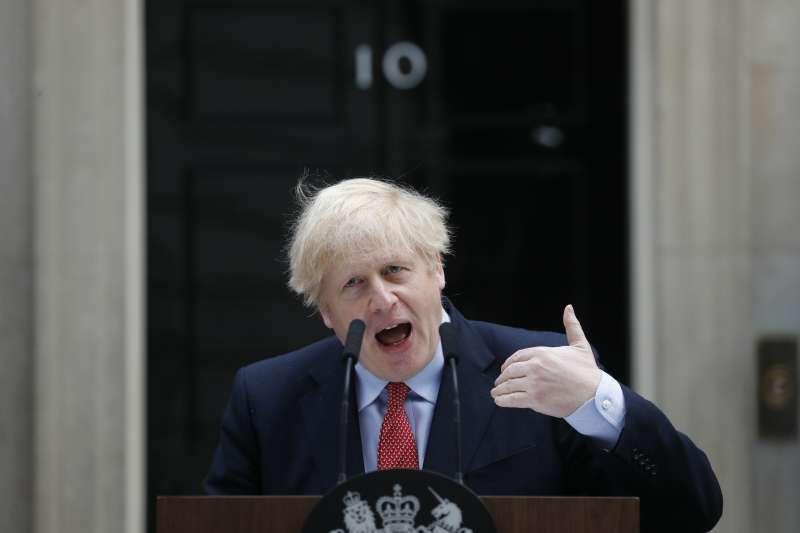 英國首相強森下達最後通牒,要求英國與歐盟在下月中旬之前達成脫歐協議(AP)