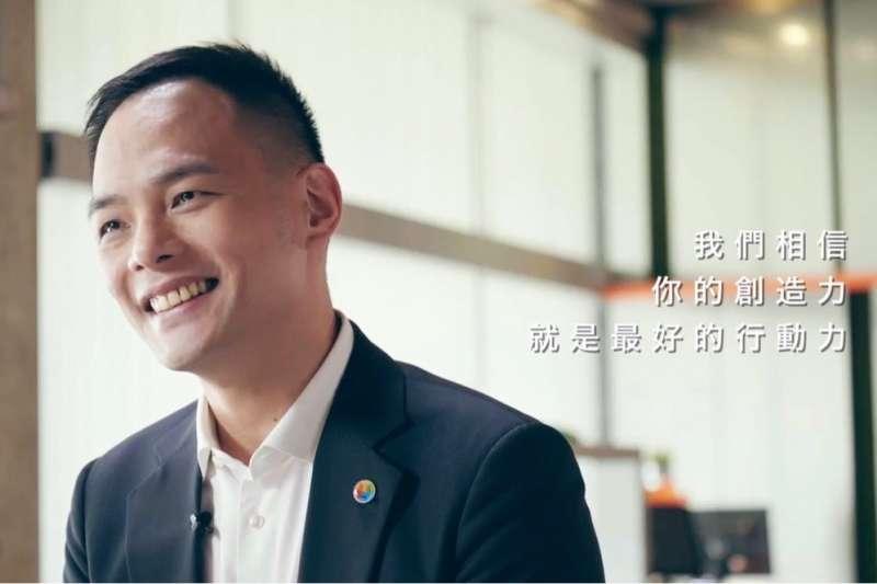 台灣大哥大總經理林之晨期許創作者藉由這個契機,從中找到作品的想法。
