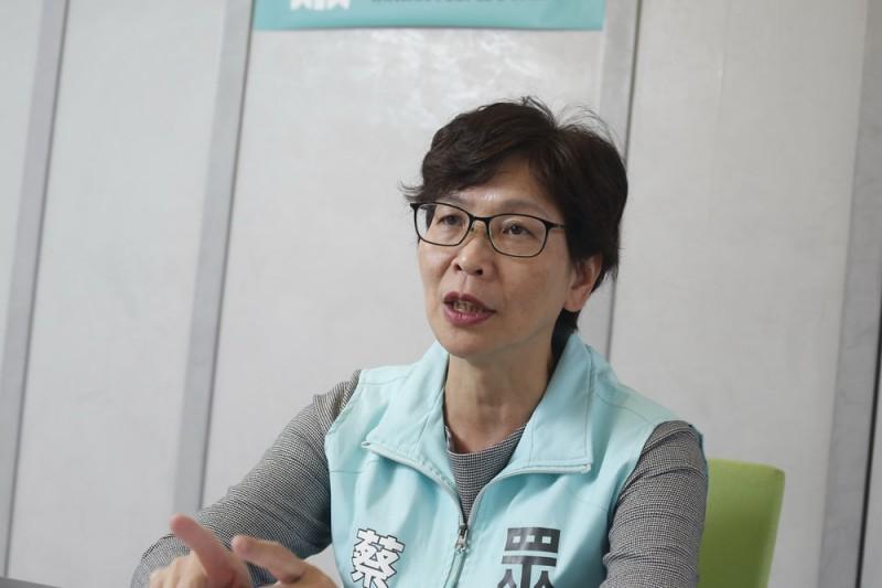 民眾黨立委蔡壁如昨(1)日接受廣播專訪時感嘆,「不曉得怎麼跟現在社會的年輕人溝通,民進黨這樣他們真的都ok嗎?」(資料照,郭晉瑋攝)