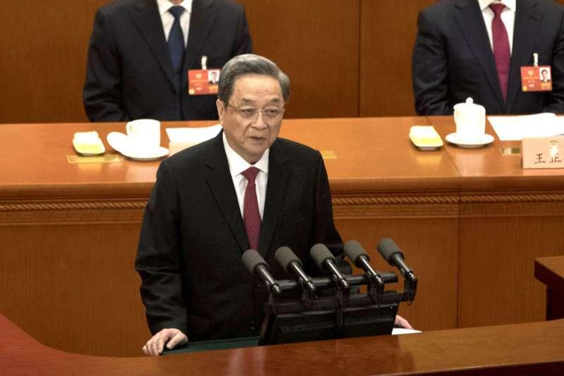 俞正聲寫信警告《財新》,背後有濃濃政治意涵。(美聯社)