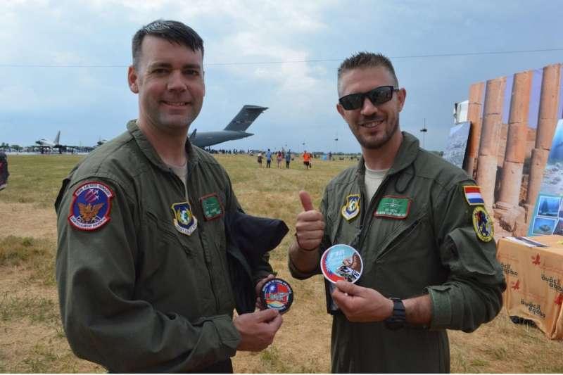 由12個國家組成的北約戰略空運部隊,沒有在本次的人道救援行動中缺席,照片由筆者2018年在英國Air International Tattoo活動上拍攝。