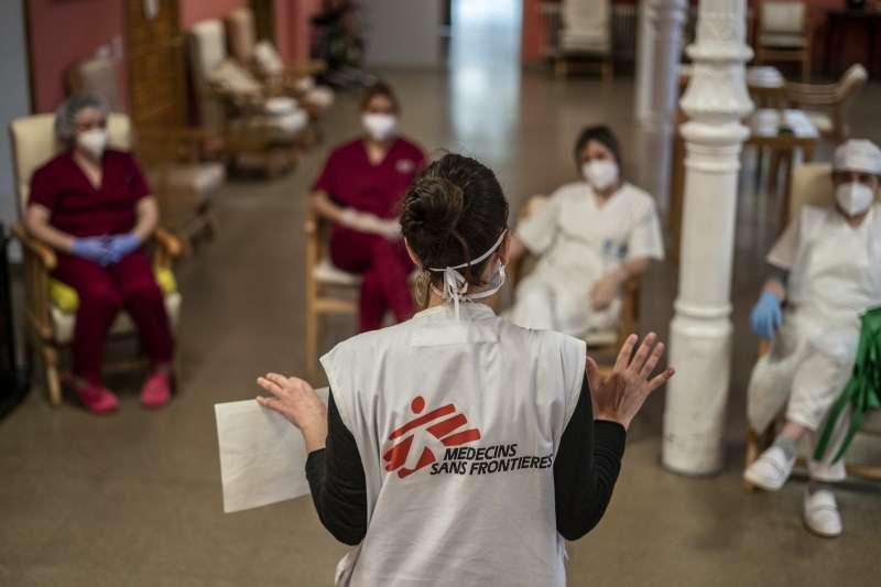 無國界醫生展開全球行動 支持醫護、社區對抗新冠肺炎。(© Olmo Calvo/MSF)