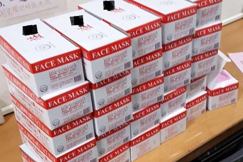 為避免劣質口罩輸入國內,食藥署宣布醫用口罩將於7月7日正式納入邊境抽查檢驗,來確保輸入醫用口罩之品質。(資料照,調查局提供)