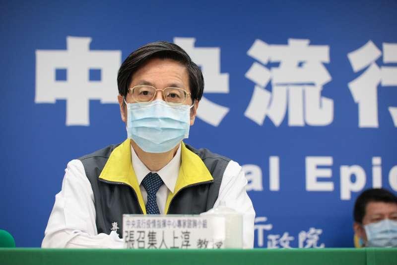 針對疫情,中央流行疫情指揮中心專家小組召集人張上淳(見圖)指出,台灣防疫團隊十分努力,再加上國內醫療水準本就很好,這才讓台灣能維持低死亡率。(資料照,中央流行疫情指揮中心提供)