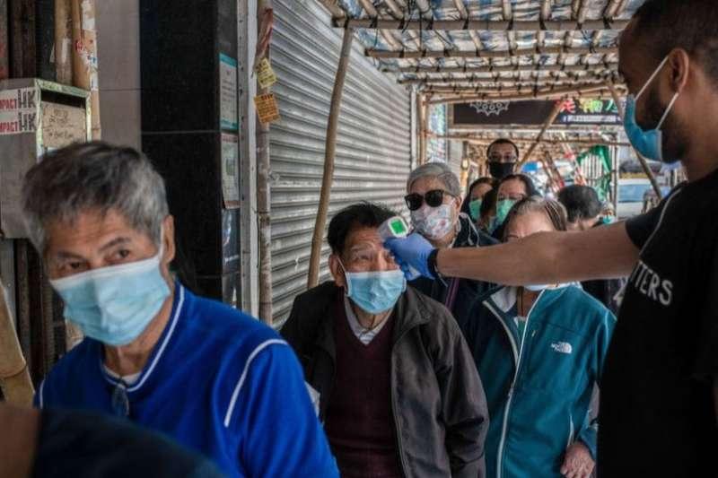 肺炎疫情下香港的露宿街頭者,一群「不屬於這裏」的人(BBC中文網)