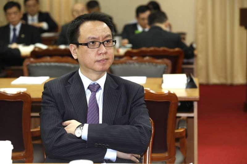 國民黨的國際事務部,由淡江大學國際事務與戰略研究所副教授李大中擔任主任。(郭晉瑋攝)
