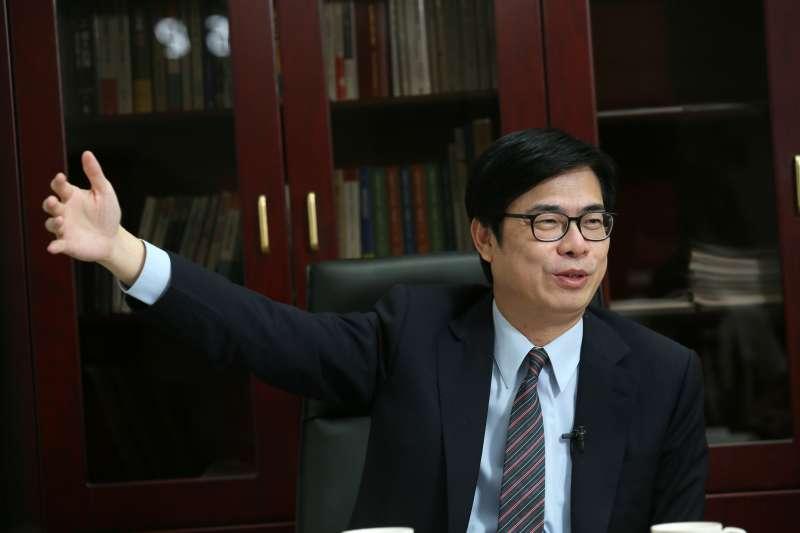 罷韓過後,行政院副院長成為民進黨「呼聲最高」的高雄市長接棒人選。(柯承惠攝)