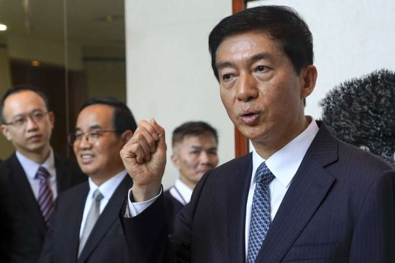 宣示香港終於告別「國安不設防」歷史的駱惠寧,其實就是「京人治港」的首任「港督」。(美聯社)