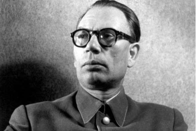 曾經的蘇維埃英雄弗拉索夫將軍,也來過中國協助蔣委員長訓練國軍抗日。(作者提供)