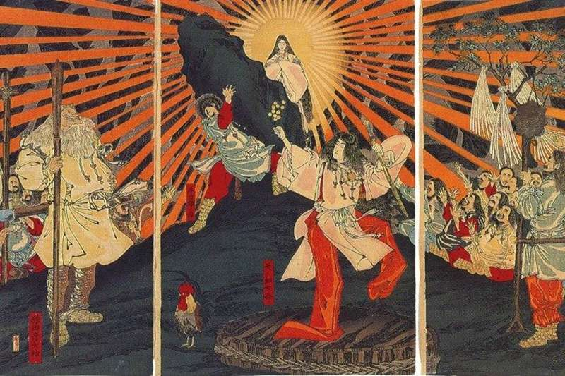 原來日本神話有這麼多有趣的故事啊!(圖/維基百科)