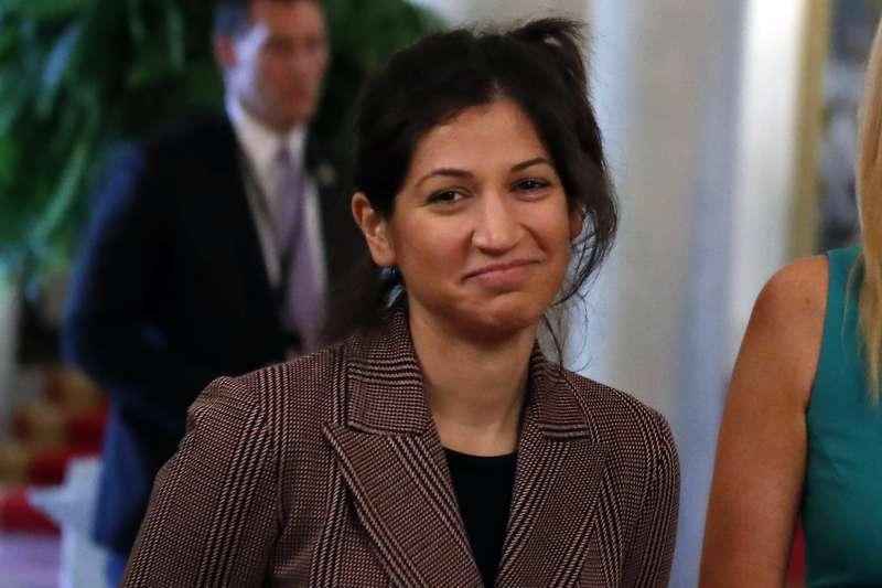 美國副總統彭斯的新聞秘書米勒(Katie Miller)(AP)