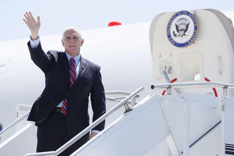 美國副總統彭斯(Mike Pence)(AP)