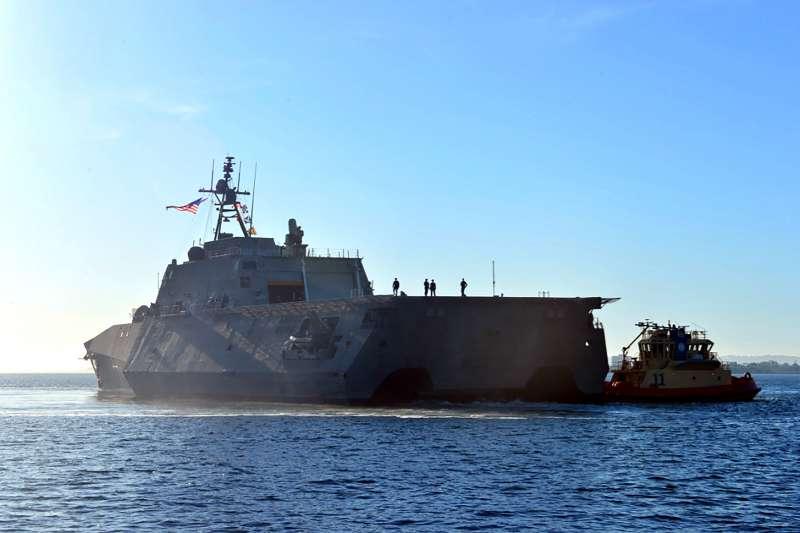 美軍濱海戰鬥艦「蒙哥馬利號」(USS Montgomery)(Wikipedia / Public Domain)