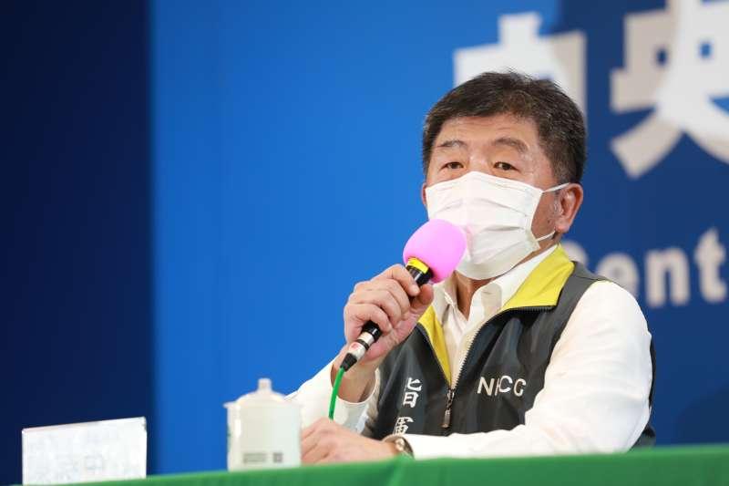 中央流行疫情指揮中心指揮官陳時中15日表示,近期正研擬將口罩管制政策鬆綁,走向更開放的管理方式,讓剩餘的口罩可以外銷或寄送海外。(資料照,中央流行疫情指揮中心提供)