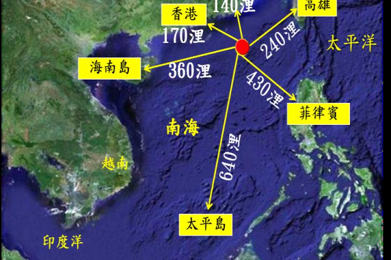 立榮航空15日上午1班飛往東沙的B7-9051次軍包機,被香港區管中心要求返回台灣。(資料照,海巡署官網)