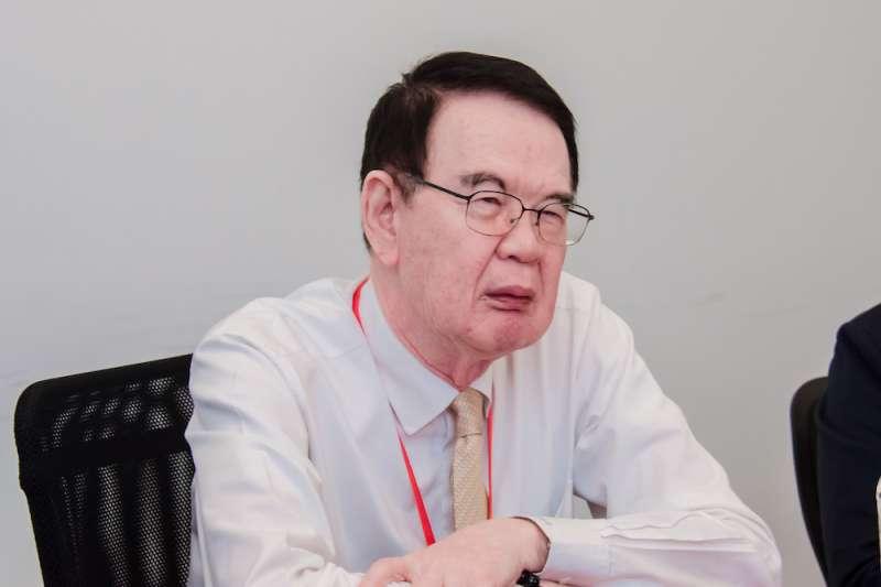 紡織股王儒鴻8月營收月減25.33%、年減17.84%,圖為董事長洪鎮海。(取自資策會網站)