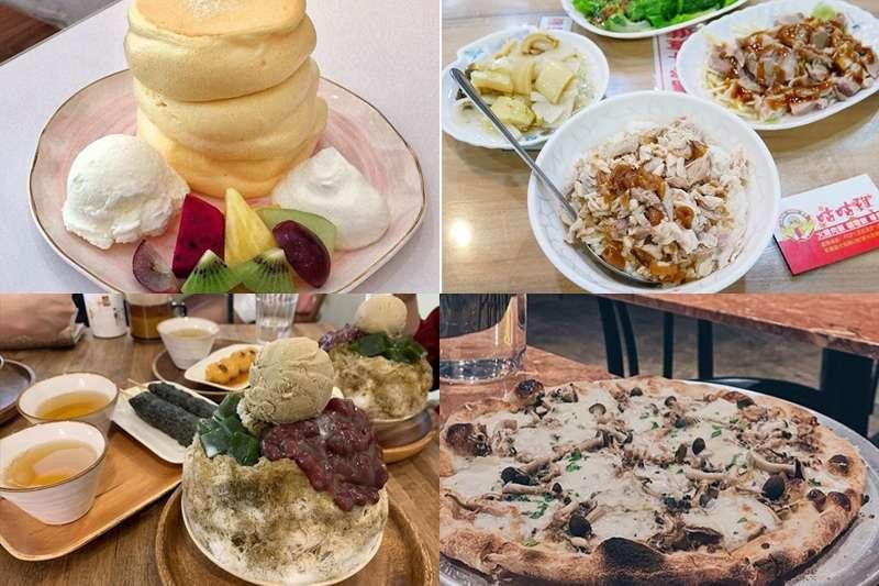 來到桃園,各種銅板美食應有盡有,火雞肉飯、紅油炒手、鍋燒麵……竟然都百元有找!(圖/small_white_eat_ 、gourmande_yen、/_foodieling_、pdu_eattt@instagram)