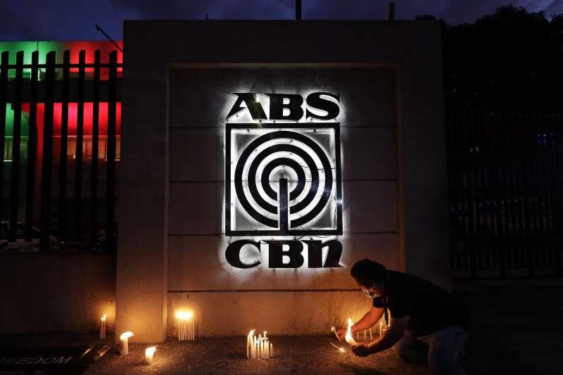 2020年5月,菲律賓政府關閉ABS-CBN電視台(AP)