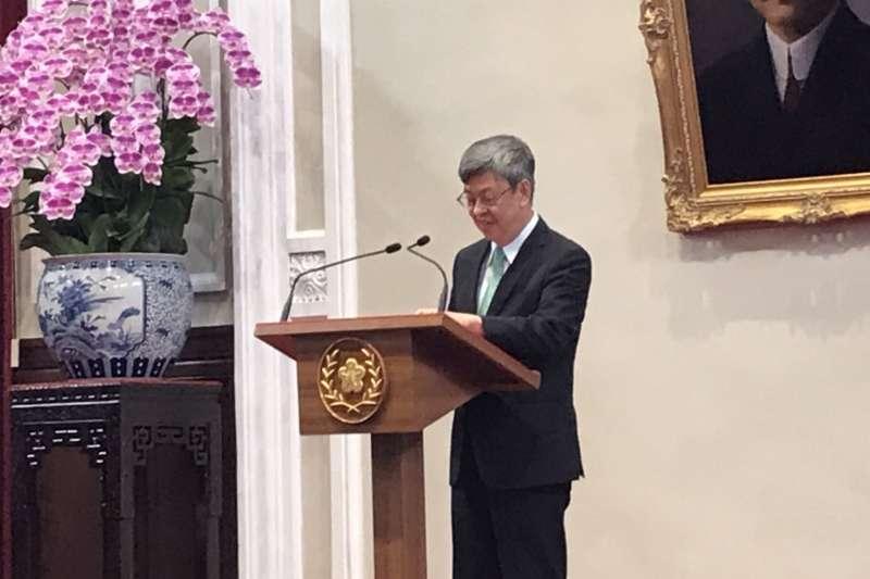20200514-副總統陳建仁。(黃信維攝)