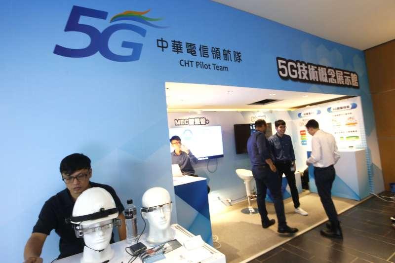 中華電信與佐臻公司合作,優先取得佐臻最新發表的慧眼系列智慧眼鏡,以及最新的慧眼系列智慧眼鏡開發平台。(郭晉瑋攝)