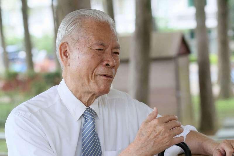 林秋山曾多次「密訪」朝鮮,成功促成雙方政府首次會談。(柯承惠攝)