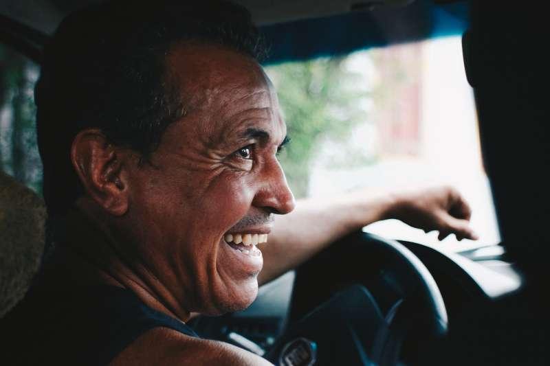 司機、計程車、開車。(圖/pixabay)