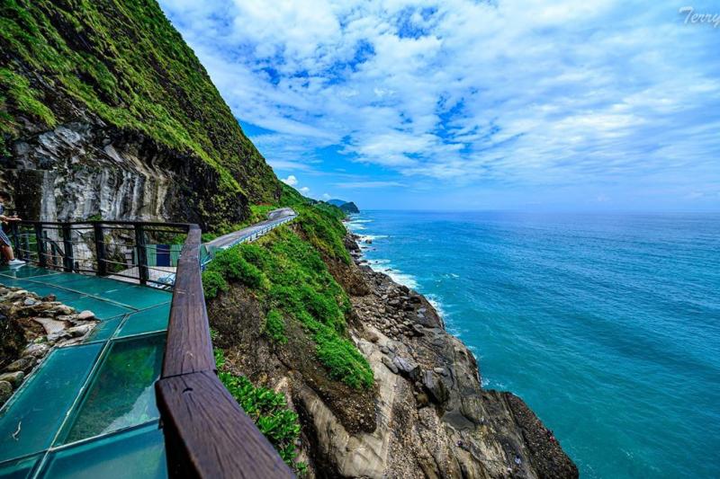 親不知子天空步道實在是太美啦!(圖/kuochunghuang@instagram)