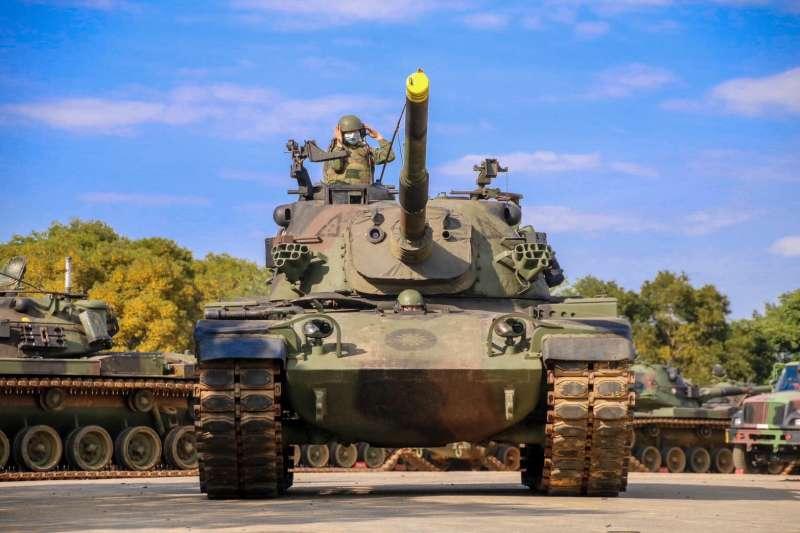 20200516-CM-11戰車。(資料照,取自中華民國陸軍臉書)