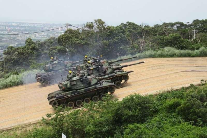 20200516-M60A3戰車。(資料照,取自中華民國陸軍臉書)
