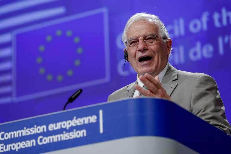 歐盟外交和安全政策高級代表(歐盟外長)波瑞爾(Josep Borrell)(AP)