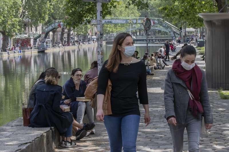 新冠肺炎疫情嚴重衝擊法國社會經濟(AP)