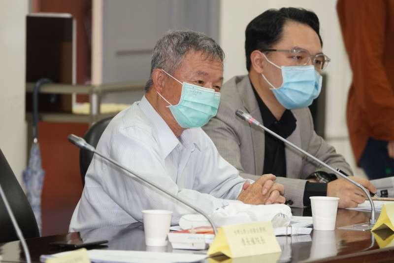 20200518-立法院厚生會18日舉行「新冠肺炎 Covid-19政策對談」討論會,前衛生署長楊志良出席。(盧逸峰攝)